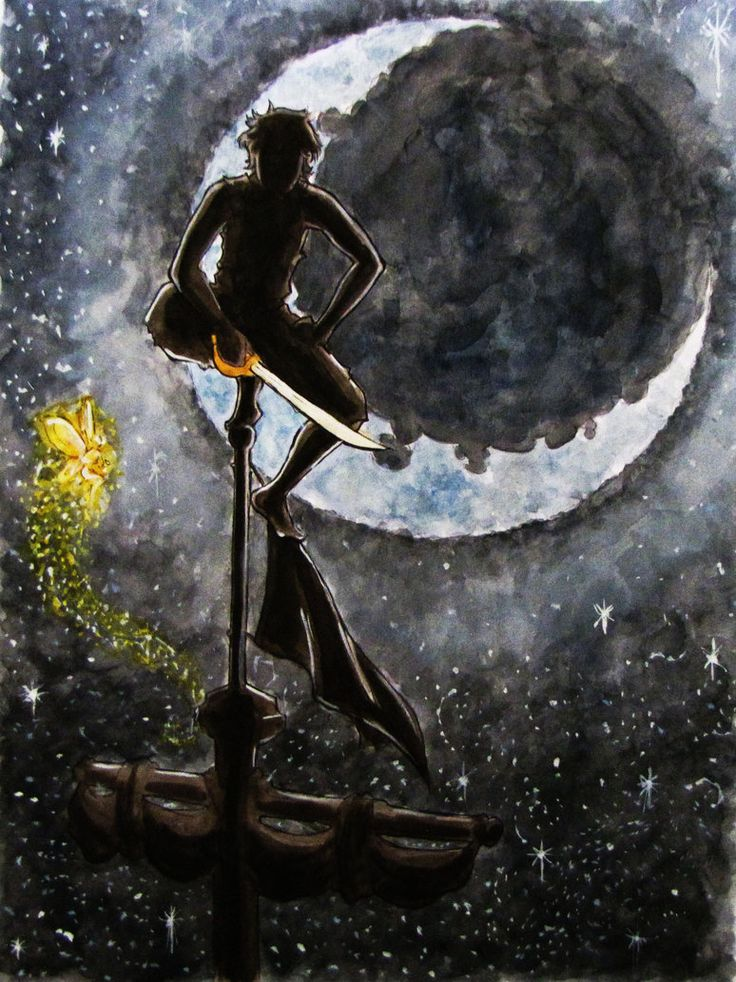 Peter Pan by ~EllaWilliams on deviantART