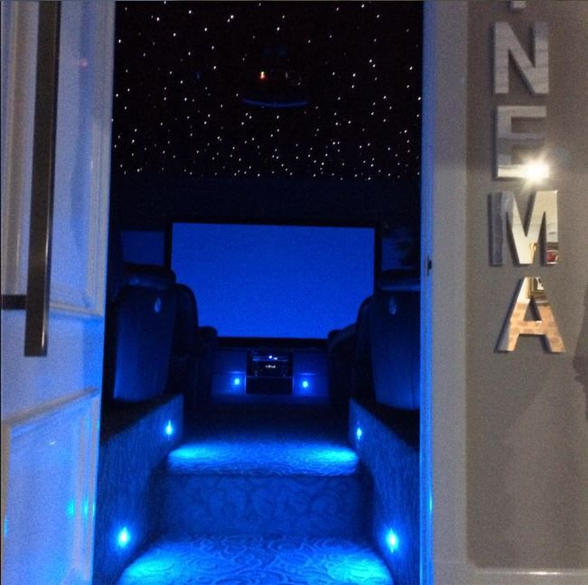 Home Cinema, with Mirco Fiber Optic Lights!