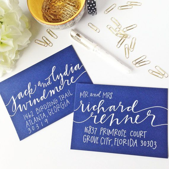 Envelope+Addressing++Envelope+Calligraphy++Wedding+by+WestSheridan,+$2.75