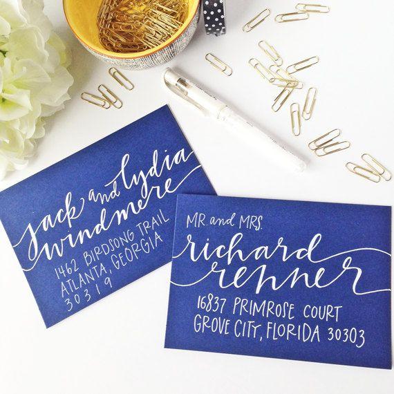 Envelope Addressing - Envelope Calligraphy - Wedding Envelopes