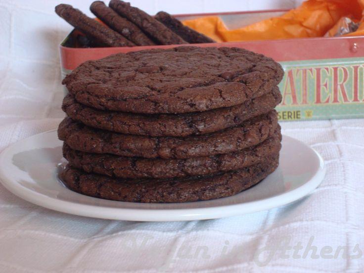 Double chocolate Soft Kings cookies