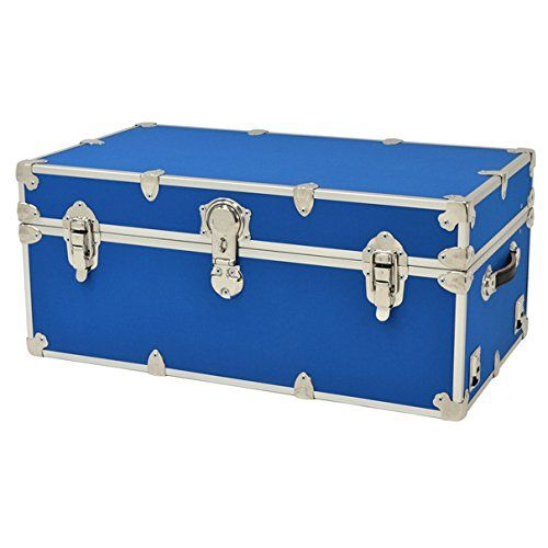 Rhino Armor Camp  College Trunk  30 x 17 x 13  WITH WHEELS *** Click image to review more details. (Amazon affiliate link)
