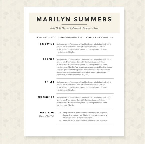 best font for a resumes
