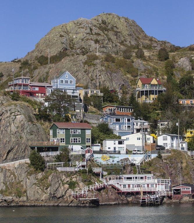 Summer in the Battery of St. John's Newfoundland