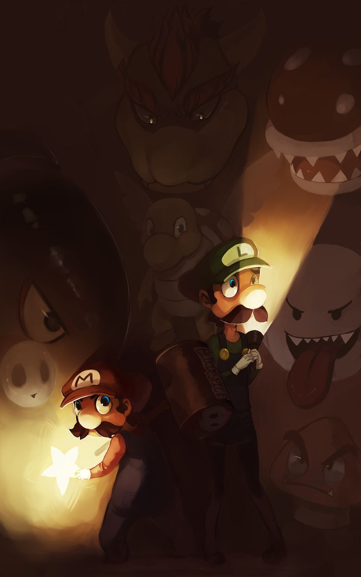 Mario Brothers by *Blood-and-Spice on deviantART