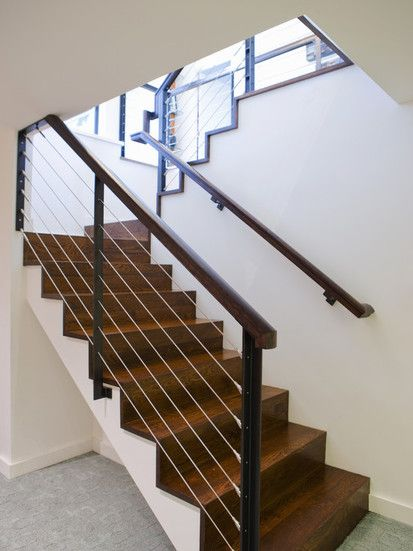 Nw Homes, Modern Staircase, Portland