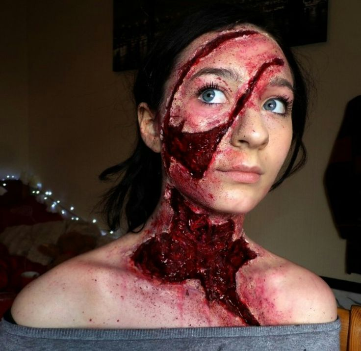 ellimacs sfx makeup - YouTube