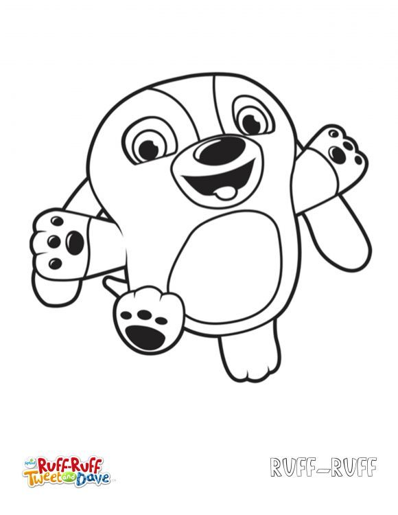 Free Ruff Ruff Tweet And Dave Coloring Pages
