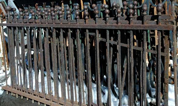 32 best iron fencing images on pinterest