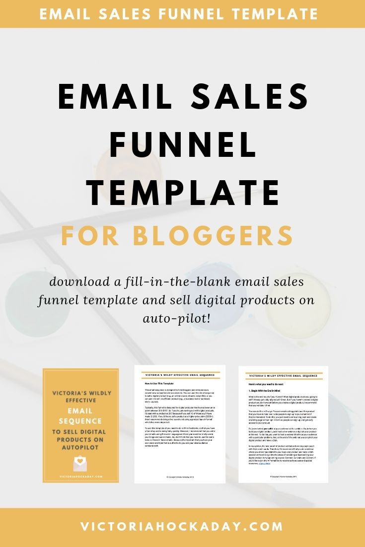 The Email Sales Funnel Diaries