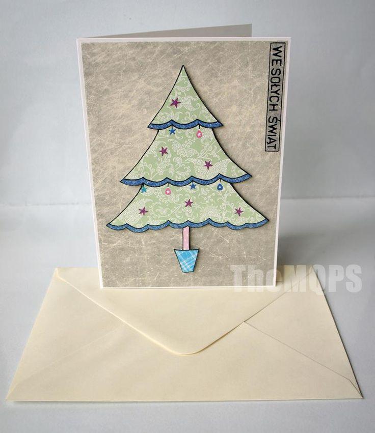Christmas Tree Card / Kartka Świąteczna Choinka ;)