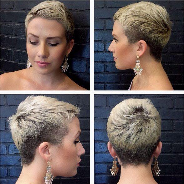 Trend Extreme Kurzhaarfrisuren Frauen In 2019 Short Hair
