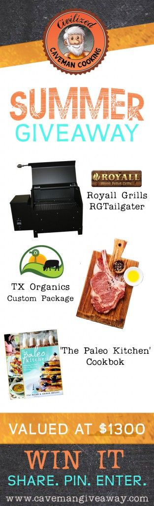The Paleo Kitchen Giveaway - $1300 Value | Civilized Caveman Cooking Creations