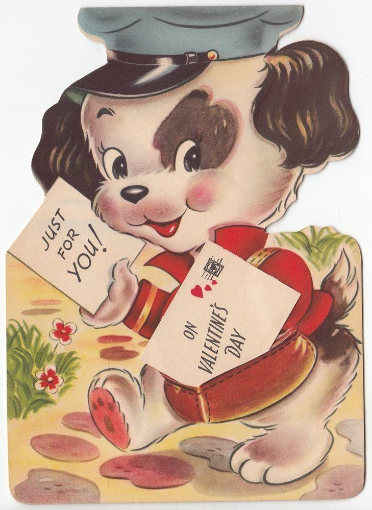 88 Best Vintage Valentine Cards Mail Images On