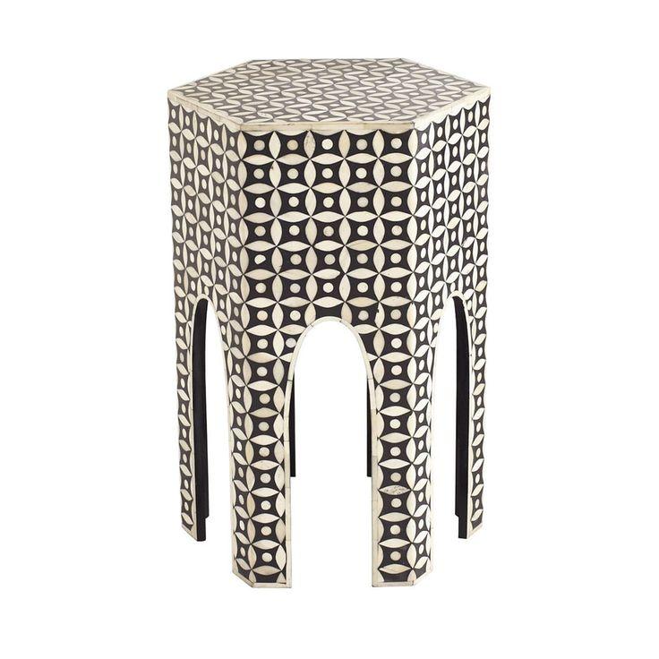 Arabian Bone Side Table - NEW