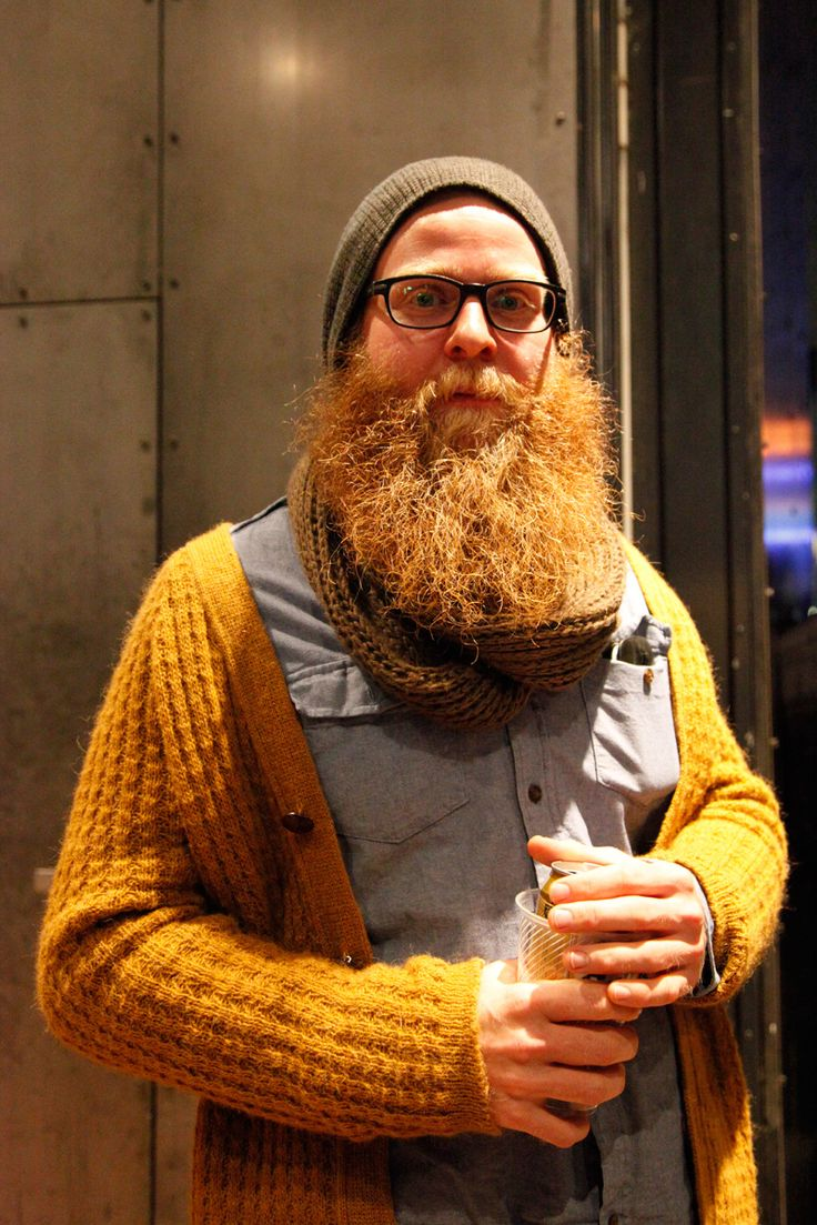 Full Thick Wild Bushy Red Beard And Mustache Beards