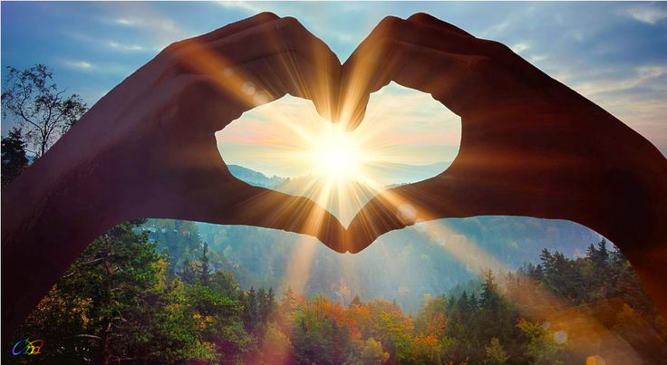 Where there is love. There is hope and light...!!!