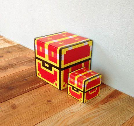 PIXEL TREASURE BOX