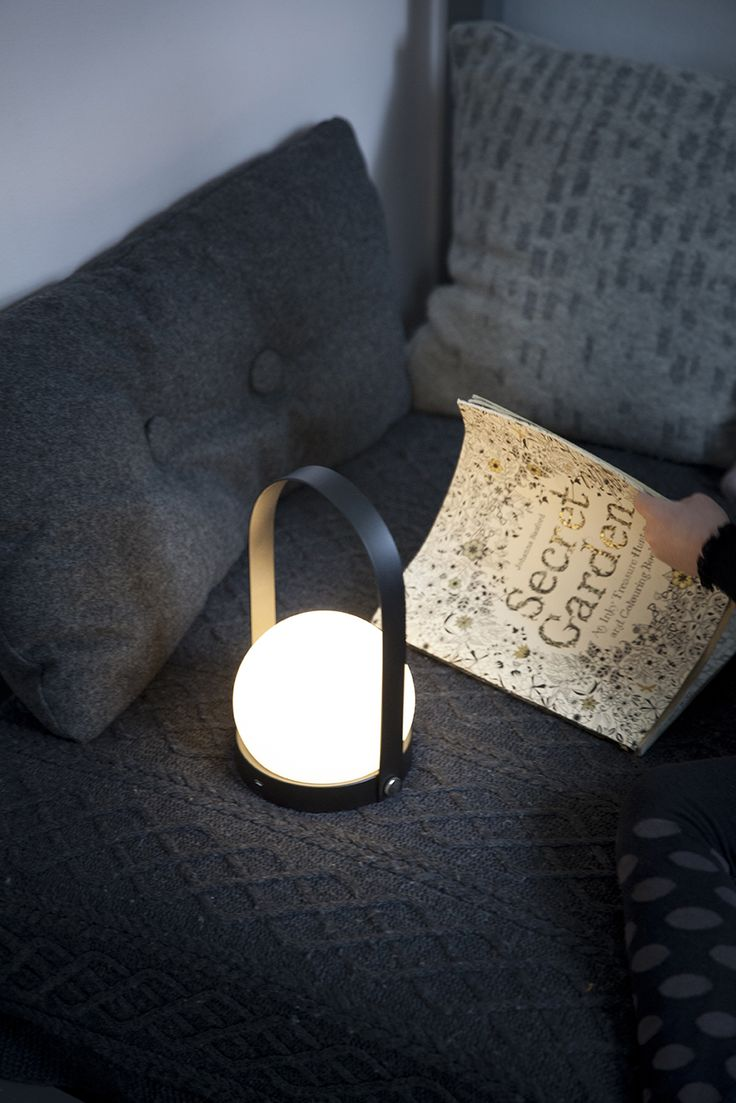 Led Carrie   The LED Carrie From Norm Architects Is A Modern Spin On The  Classic Carrie Lamp Common In Danish Homes. The Easily Portable Lantern  Casts A ...