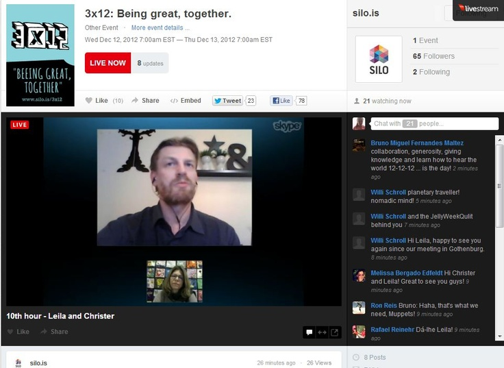 streaming with Christer Edman  #3x12 #silo #colab