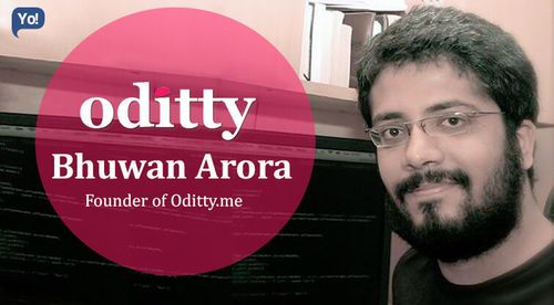 Oddity Founder Bhuvan Arora's Business Journey in an Interview with Yo! Success