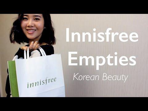 Innisfree Empties • 이니스프리 공병 - YouTube