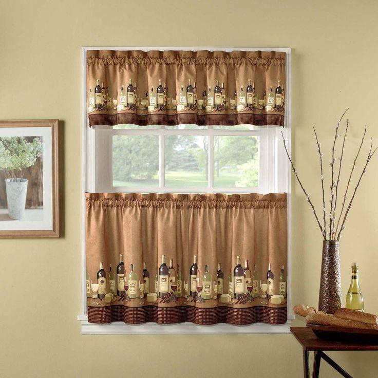 CHF Industries Wines Kitchen Curtain Set - 1Z46760XMU