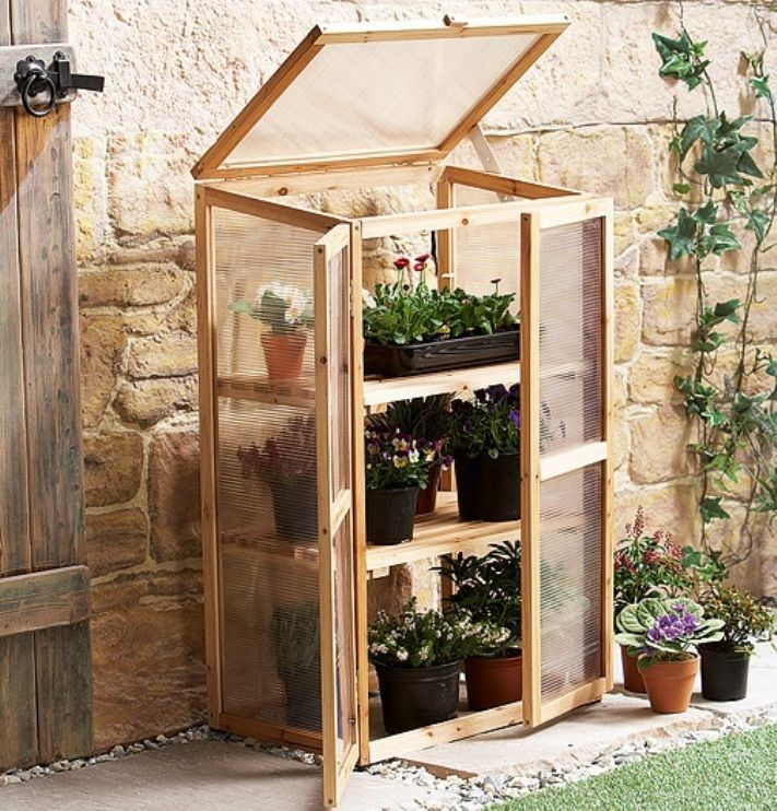 Build a Wood Greenhouse | All gardeners should own a greenhouse, even a mini greenhouse
