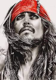 Johnny depp / Pirates of the Caribbean / Art