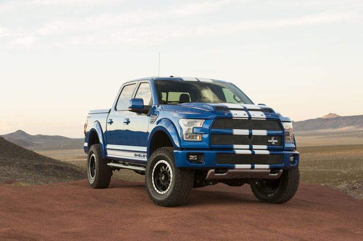Looking For A 750HP Truck In The UK? Buy A Shelby F-150 Super Snake