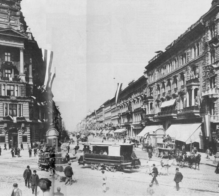 Andrássy út 1896-ban