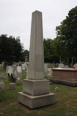 Marker for Roger Sherman, Jr and his wife Susannah (Staples) Sherman.  From Findagrave.com