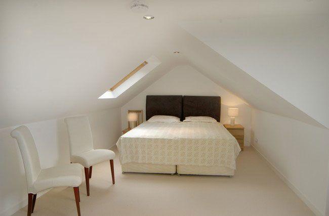 Low loft ceiling