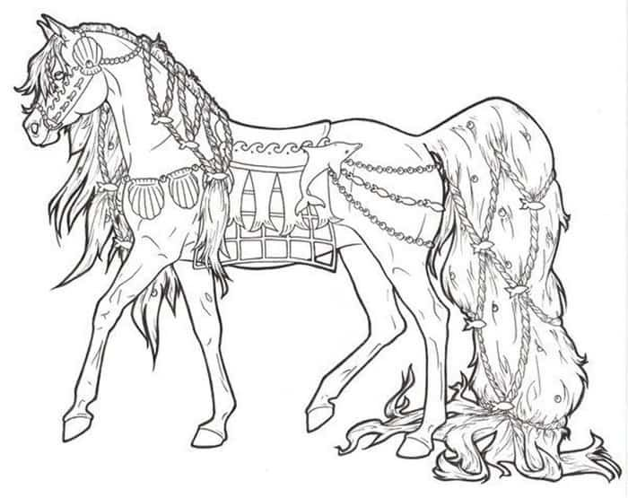 Free Horse Coloring Pages Horse Coloring Books Horse Coloring Horse Coloring Pages