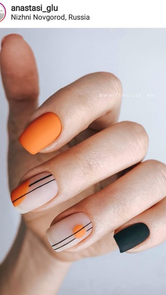 Best Nail Polish Colors for all skin types and colors. Nail Paint ideas and insp…