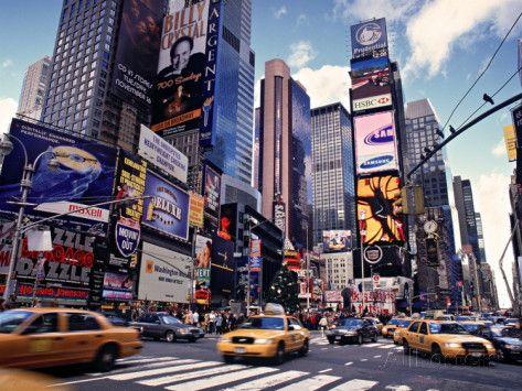 Times Square, New York City, États-Unis Photographie par Doug Pearson sur AllPosters.fr
