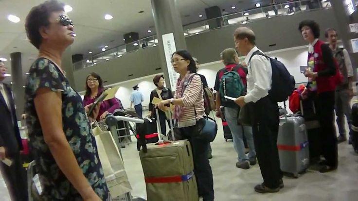 Narita Airport 成田機場 - Immigration hall 入境廳 day 1 - 12 ( Japan )