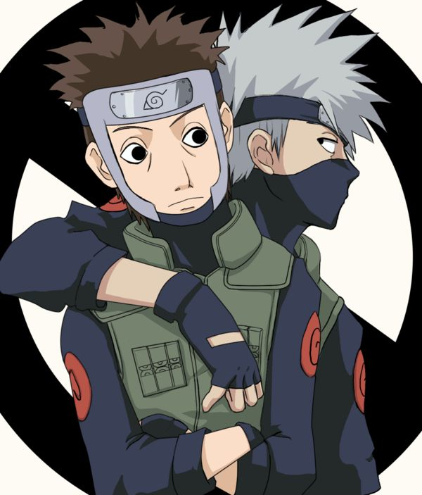 Yamato (Tenzou) X Kakashi Hatake