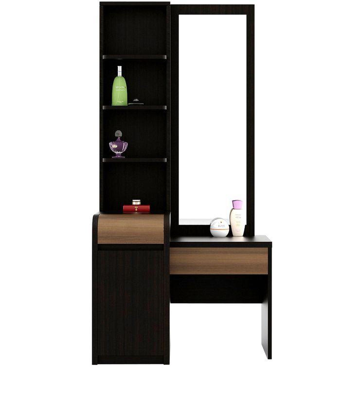 Buy Amazon Dressing Table in Wenge Colour by Spacewood  Online: Shop from wide range of Dressing Tables Online in India at best prices. ✔Free Shipping✔Easy EMI✔Easy Returns