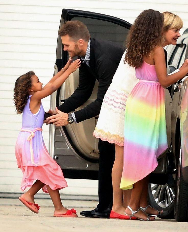 tom brady biracial niece | ... Patriots quarterback Tom Brady with his two nieces #love #biracial