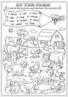 Resultado de imagen para farm animals worksheets
