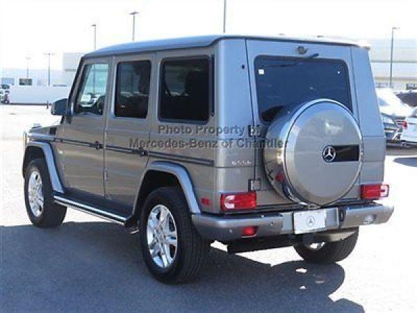 Mercedes benz g class 4matic 4dr g550 4matic 4dr g550 g for Mercedes benz g550 suv