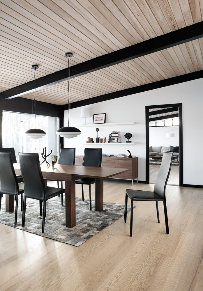 White, Black And Different Types Of Wood Creates The Perfect Living Room  Atmosphere. Part 65