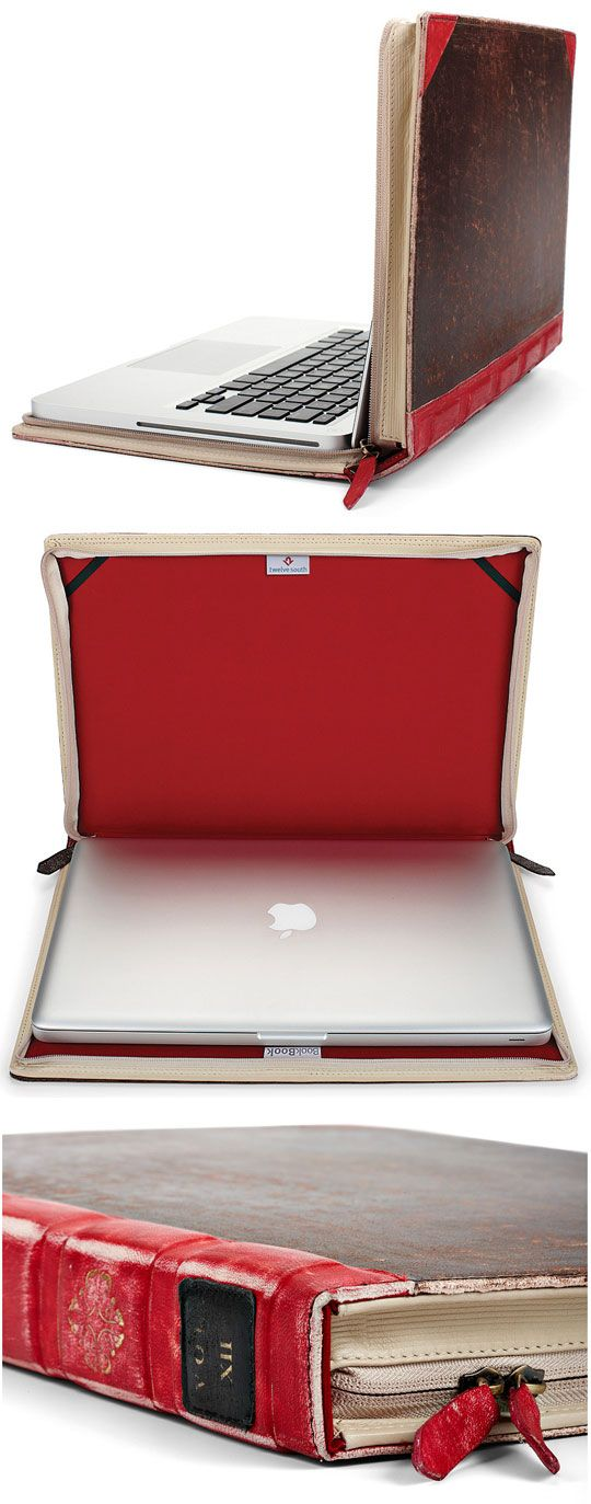 Book Laptop Case. I don't have a working laptop, but if I did I would like this immensely.