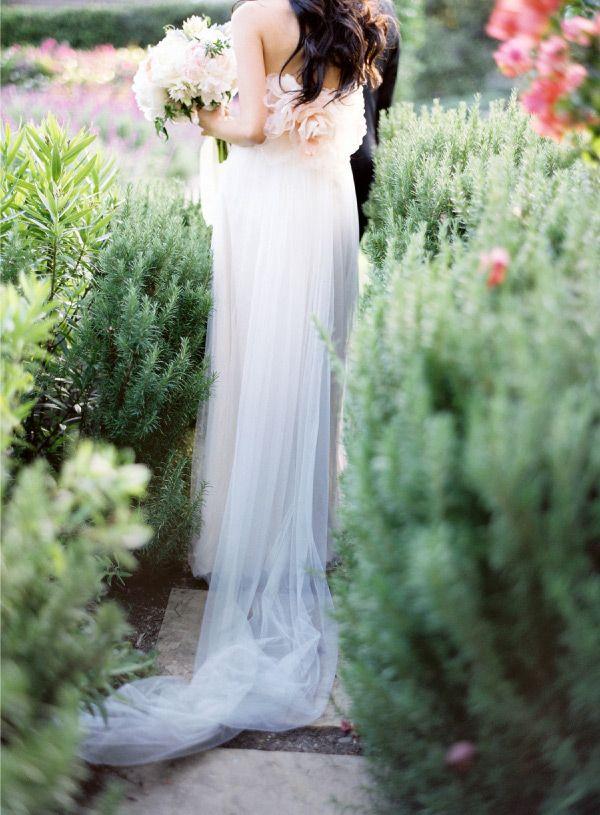 : Wedding Dressses, Pink Wedding Dresses, Clear Pettibone, Gowns, Wedding Photos, Stunning Wedding Dresses, Gardens Wedding, The Dresses, Flowers