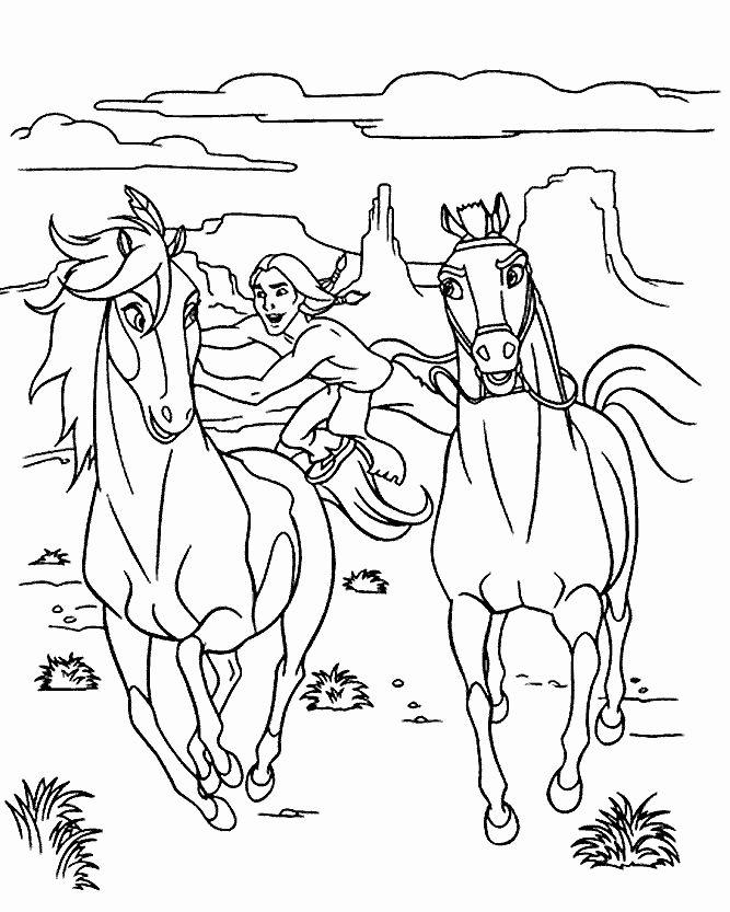 8d24d755a27a2e2c74bbdefec45eda9d » Coloring Page Of Spirit Horses