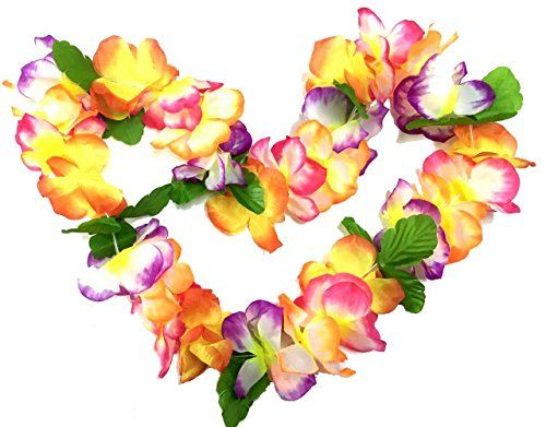 BOSHENG Hawaiian Colorful Flower Leis Necklaces for Tropi... https://www.amazon.com/dp/B01FTUZEMO/ref=cm_sw_r_pi_dp_zu9txbYS16VGP