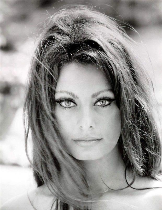 Sophia Loren, considerada umas das maiores atrizes italianas de todos os tempos.