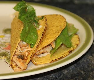 Chicken Tacos (Easy Crockpot Meal)