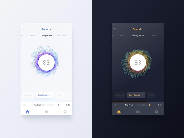 Smarthome app   night mode 1